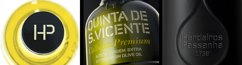 Azeite Virgem Extra Dom Diogo, Quinta de S. Vicente, Colheita Premium, Extra Virgin Olive Oil Dom Diogo, Huille d'Olive Extra Vierge Dom Diogo, Winner Concurso Mario Solinas, First Cold Press, Premi�re Pression � Froid, Herdeiros Passanha, Alentejo, Portugal.